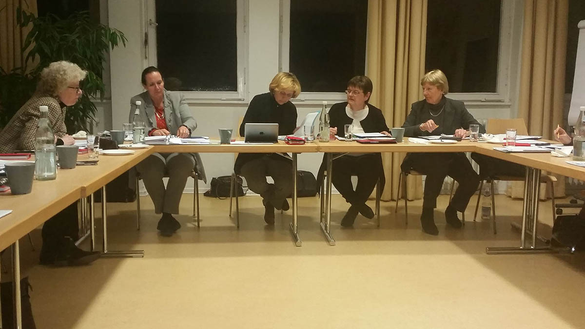 Vorstandssitzung des Deutschen Akademikerinnenbundes Januar 2016 © DAB