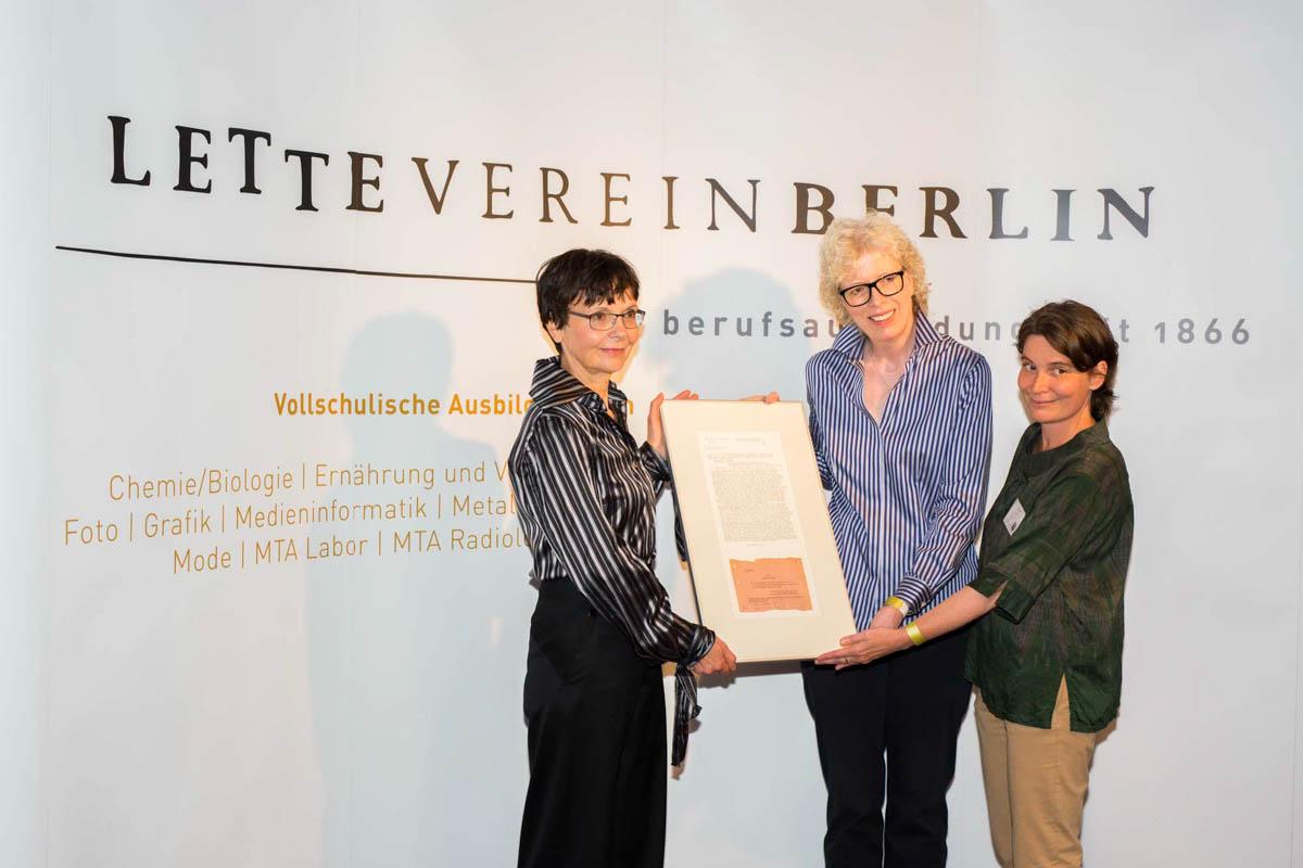 150 Jahre Lette-Verein am 23. September 2016